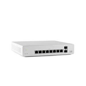 Meraki MS220-8 Cloud Managed 8 Port GigE Switch
