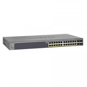 NETGEAR L2 Smart Switch, 24-port 10/100/1000BaseT (24-port PoE)
