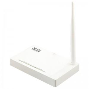 Netis Switch 150Mbps Wireless N Router, 1*5dBi external fixed antenna?IPTV function and full dual access support