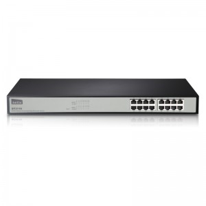 Netis Switch 16 Port Rack-mountable Fast Ethernet Switch 19 inch Metal