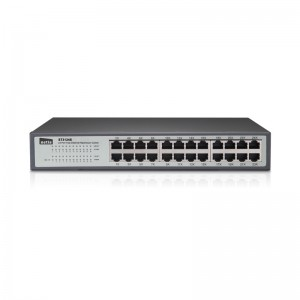 Netis Switch 24 Port Fast Ethernet Switch, 10/100 mbps 13 inch Metal