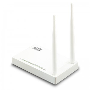 Netis Switch 300Mbps Wireless N Router, 2*5dBi external fixed antennas?IPTV function and full dual access support