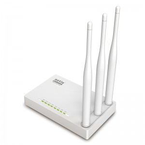 Netis Switch 300Mbps Wireless N Router, 3*5dBi external fixed antennas?IPTV function and full dual access support