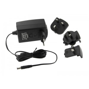 Power Supplies (2) for SoundStation2W base and console, 100-240V. Includes two (2) 1.8m/6ft power cords with UK plug.