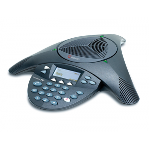 Polycom SoundStation2W (Basic) 2.4 GHz WDCT Wireless. Non-expandable. With Base Station (PSTN), 2 110-220V AC power supplies, 2 India/CEE7/7 power cords, 12 hrs talk time battery, 2.8m telco cable, 1.2m mobile phone cable (3.5mm), secure voice encryption.