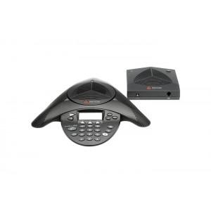 Polycom SoundStation2W (Basic) 1.9 GHz DECT Wireless. Non-expandable. Includes Base Station (PSTN), 2 110-220V AC power supplies, 2 power cords with UK plug, 12 hour talk time battery, 2.8m telco cable, 1.2m mobile phone cable (2.5mm), secure voice encryp