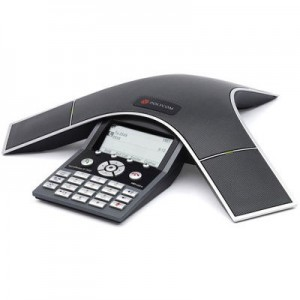 Polycom SoundStation IP 7000 (SIP) conference phone. AC power or 802.3af Power over Ethernet. Includes 100-240V power supply, 1.5A, 48V/50W; 25 ft/6m Cat5 shielded Ethernet cable; Power Insertion Cable. Expandable.