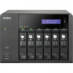 6-Bays, Intel / Dual-Core 2.6GHz, 20-CH,2GE, Full HD 1080P200 FPS, High performance megapixel recording/ Max network throughput: 330Mbps