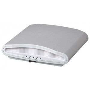 ZoneFlex R710 dual-band 802.11abgn/ac Wireless Access Point, 4x4:4 streams, MU-MIMO, BeamFlex+, dual ports, 802.3af/at PoE support. Does not include power adapter or PoE injector. Includes Limited Lifetime Warranty.