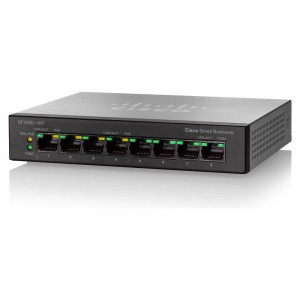 SF100D-08P 8-Port 10/100 PoE Desktop Switch
