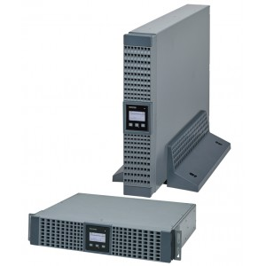 Netys RT 1.1kVA rack 2U/tower, built-in batt, +rail